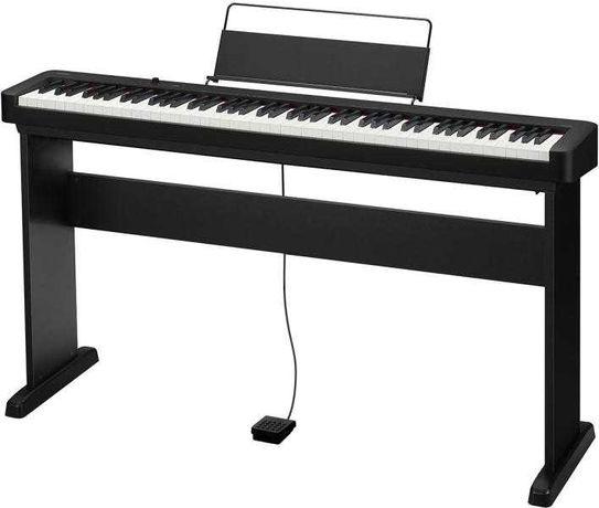 Цифровое пианино CASIO CDP-S100BKC7 Black + стойка CS-46PC7