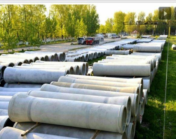 Vand tuburi din beton armat pentru podete canalizari subtraversari etc