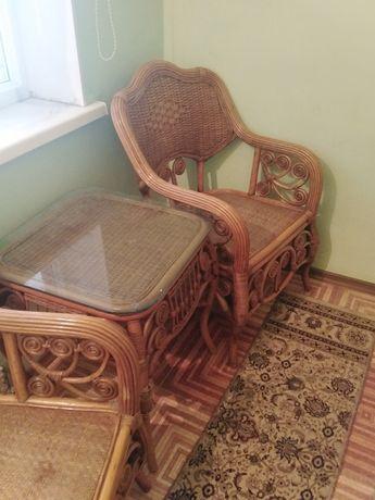 Продам плетёную мебель