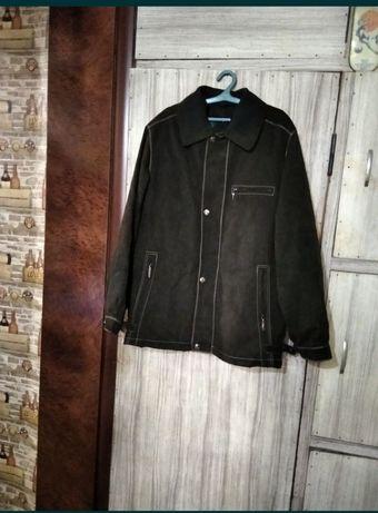 Куртка замшевая на подкладке отстегивающемся