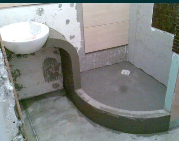 Ремонт ванной комнаты. Укладка кафеля не дорого
