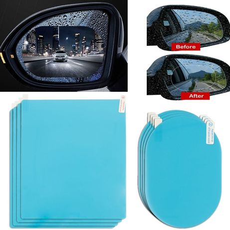Нано плёнка / Антидождь для зеркал заднего вида и боковых стёкол автом