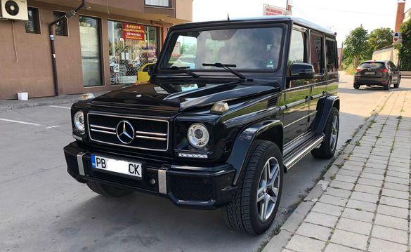 Mercedes-Benz G 55 AMG - газ-бензин