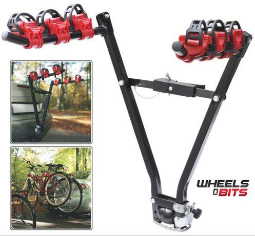 Вело стойка за багажник на автомобил с теглич - за две колела до 35 кг