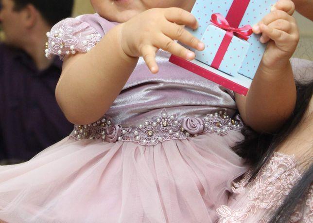 Платье мама + доча, Фэмили лук, идеально для тусау кесу на годик