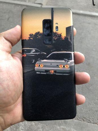 S9 plus 64 gb черный с коробкой