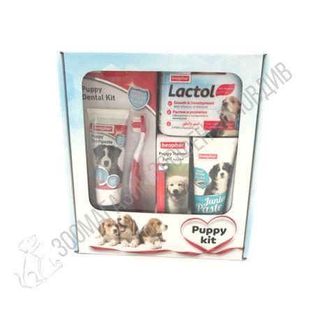 Beaphar Puppy Kit 4в1 - Комплект за малки Кученца - 4в1