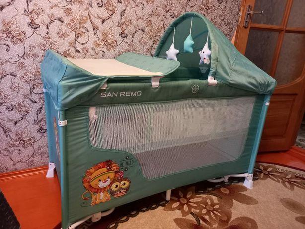 Кровать-манеж Lorelli