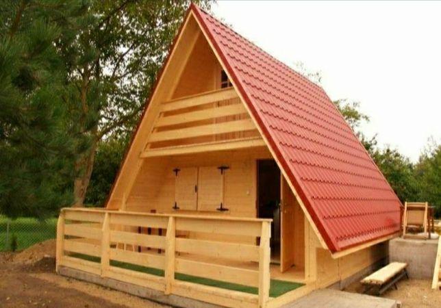 Cabane din lemn izolate termic și fonic
