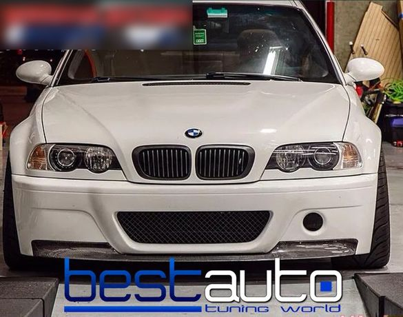 Бъбреци за БМВ Е46/BMW E46 купе-кабрио черен мат - преди фейслифт