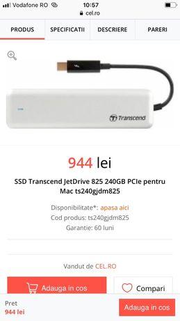 Ssd jetDrive 825 de240gb