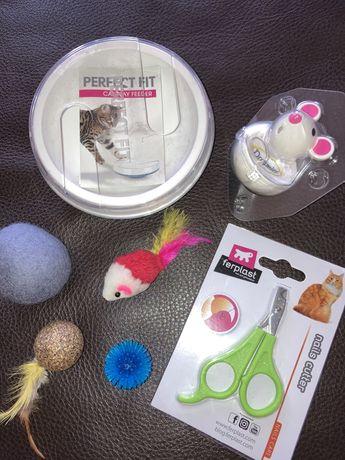 Аксесоари, играчки и храна за малко коте, Нови!