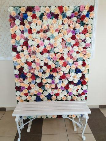 Panoul floral pentru evenimente