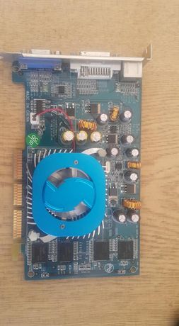 NVIDIA Geforce 6200 и Ati 9550 128мв 128bit AGP x 8