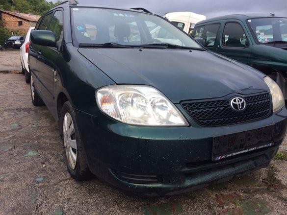 Toyota Corolla 2.0D4D 90к.с на части
