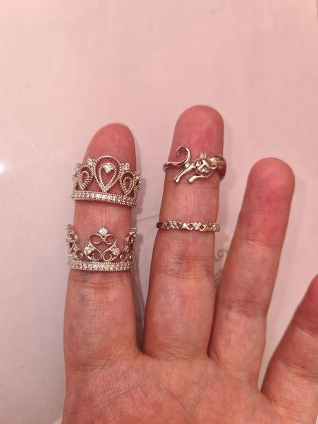 Серебряные кольца распродажа