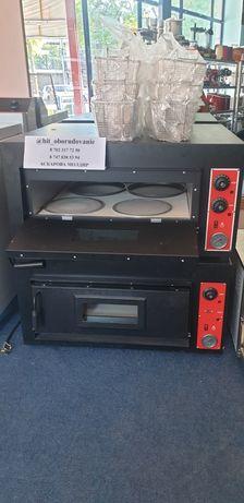 Новай печь духовка для пиццы 450 градусов 4 шт камень 60 см