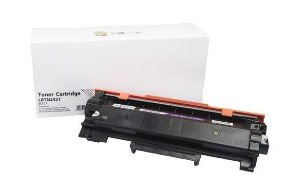 Нова съвместима тонер касета Brother TN2421 Без чип