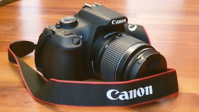 Camera foto DSLR CANON 1200D, ca nou, 3477 cadre, pentru cabina foto