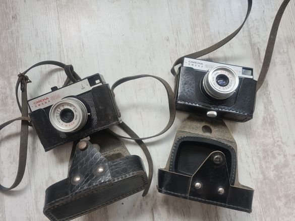 Руски ретро фотоапарат Смена 8 Смяна 8М