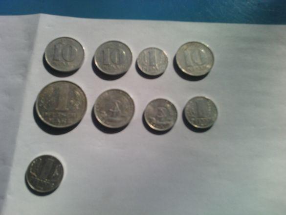 продавам монети от ГДР