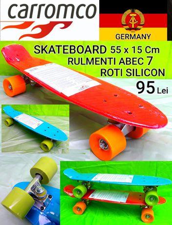 Skateboard CARROMCO GERMANY 55x15 Cm + BONUS Casca NOI - 95 Lei