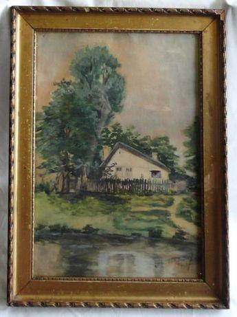 Vand/ Schimb Acuarela 1914 Tóth András