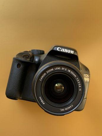 Aparat foto Canon 550d 18mpx cu obiectiv kit 18-55mm