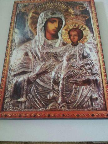 Vand icoana litografiata Maica Domnului format A3
