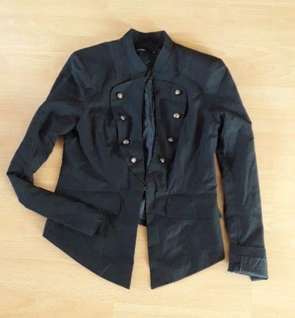 дамско черно сако милитъри