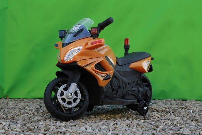 Motocicleta electrica Police 20W 6V 4.5Ah pentru copil 1-3 ani #Orange