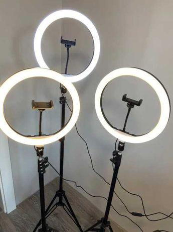 Светодиодная Лампа Кольцевая 26 33 см + пульт в подарок