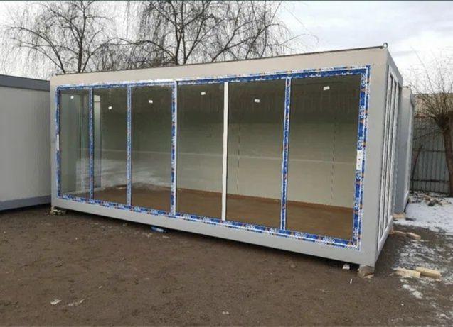 Vand containare sanitar paza