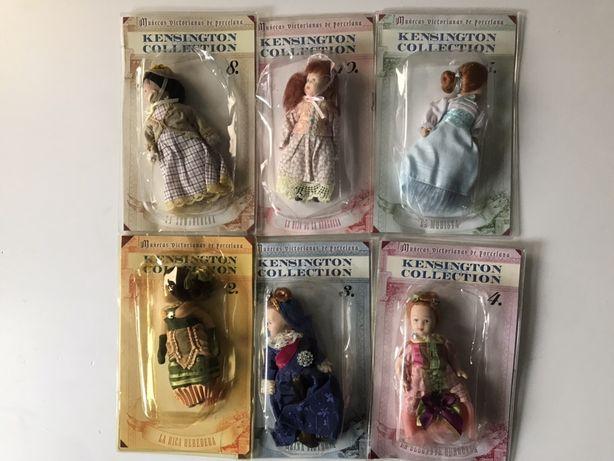 Colectie Papusi Din Portelan Kensington Noi Sigilate