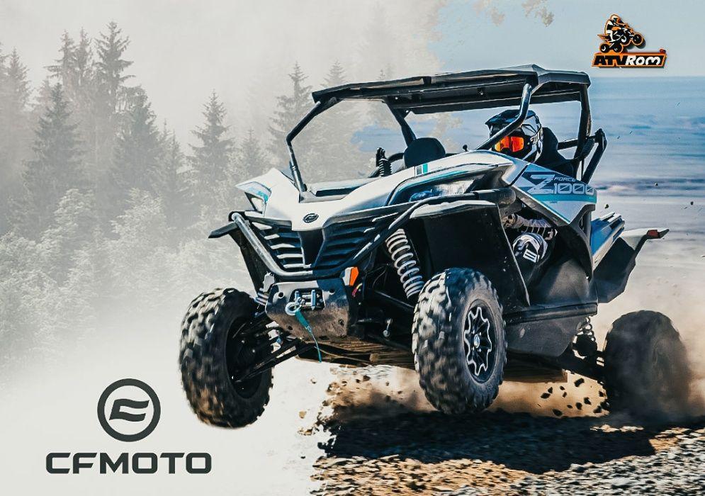 SxS-uri CF Moto 2020 Bacau - imagine 1