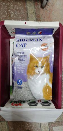 Лоток и Наполнитель. Набор для кошек и котят с доставкой.