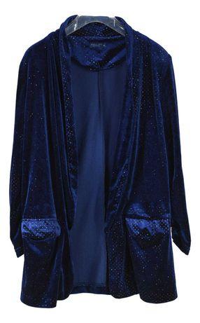 Cardigan Dama Darling Harbour Marimea S Albastru din Polyester XO85