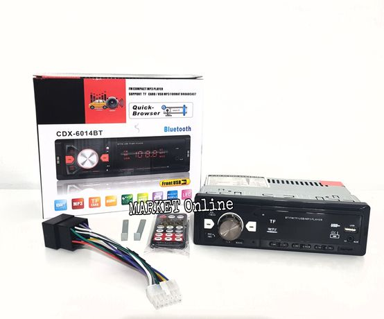 Casetofon auto CDX-6014BT bluetooth MP3 player USB TF card
