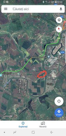 Pf vand teren langa nod autostrada Ludus Chetani