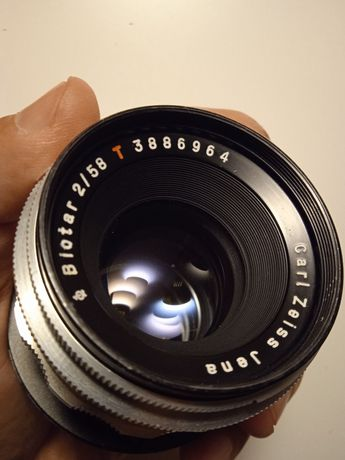 Объектив Carl Zeiss 58 f2 Canon EF адаптируется Sony Fuji Blackmagic