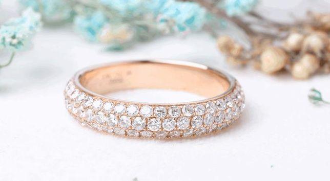 Кольцо с бриллиантами , золото 750 Россия, вес 4.91 г. «Ломбард Белый»