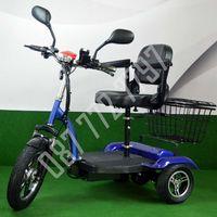 Електрическа триколка скутер А6 ПЛЮС 500 Вата с редуктор, 35 км преход