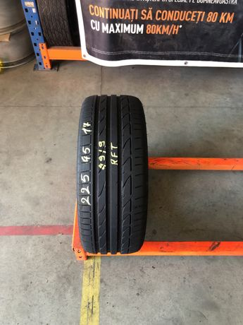 1 Anvelop vara 225/45/17 Bridgestone Potenza S001 RFT 225 45 17 R17