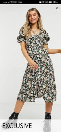 Платье reclaimed vintage