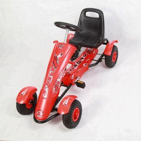 Kart Go kart, cu pedale DF 120 pentru copii 5-9 ani,roti cauciuc