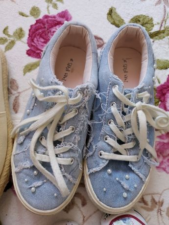 Гуменки Zara & Converse