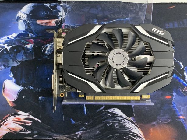 Видеокарта MSI GeForce GTX 1050 2Gb/128bit, GDDR5