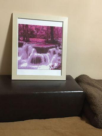Диамантен гоблен водопади