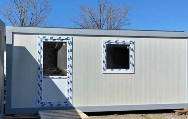 Vand container stil modular sau standard birou cabina paza