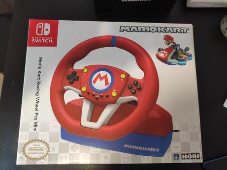 Volan Sigilat, Hori Nintendo Switch Racing Wheel Pro Mini Mario Kart